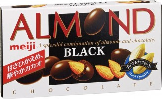 Meiji Almond Black Chocolate