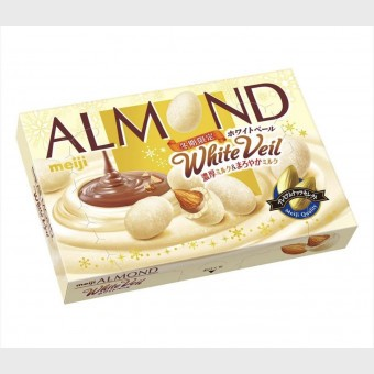 Meiji Almond White Veil Chocolate