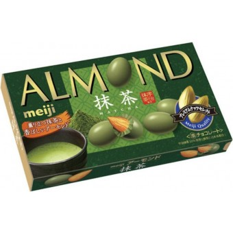 Meiji Almond Matcha Chocolate